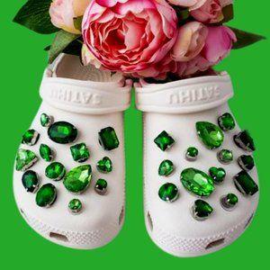 Crocs Shoe Jewel Charms SHAMROCK